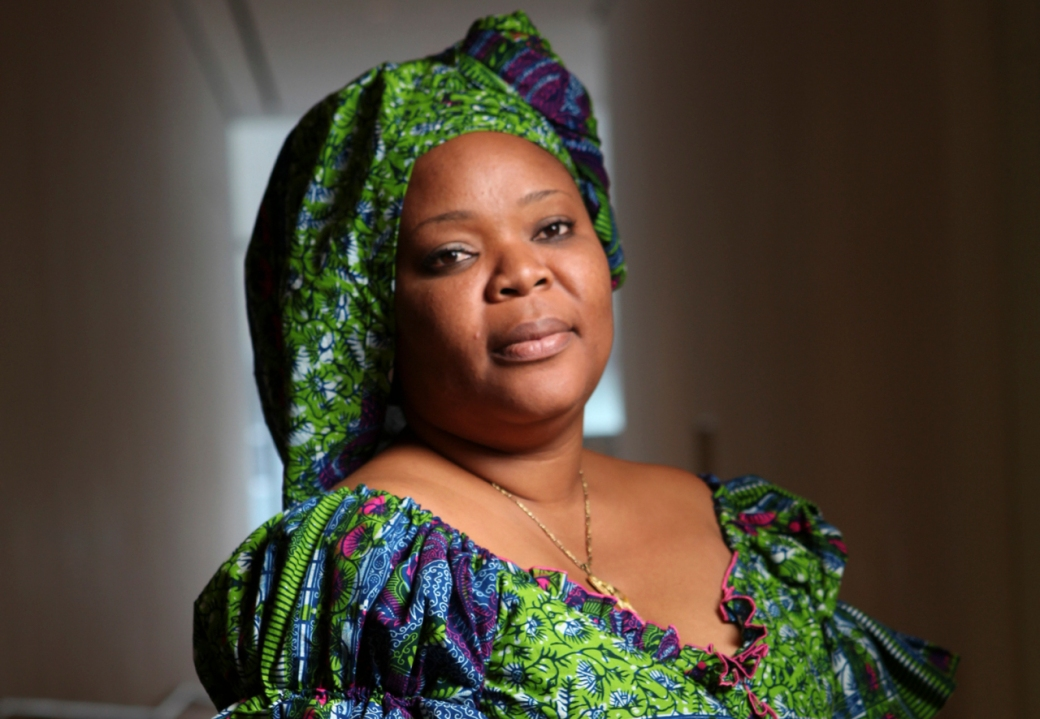 "Leymah Gbowee, peace activist and author of ""Mighty Be Our Powers,"" in New York."